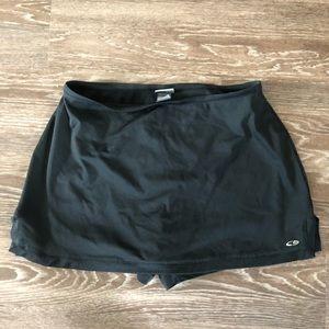 Champion Target Black Tennis Skirt